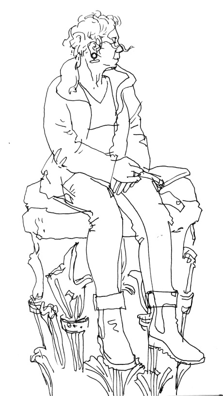 gill-on-roman-pedestal