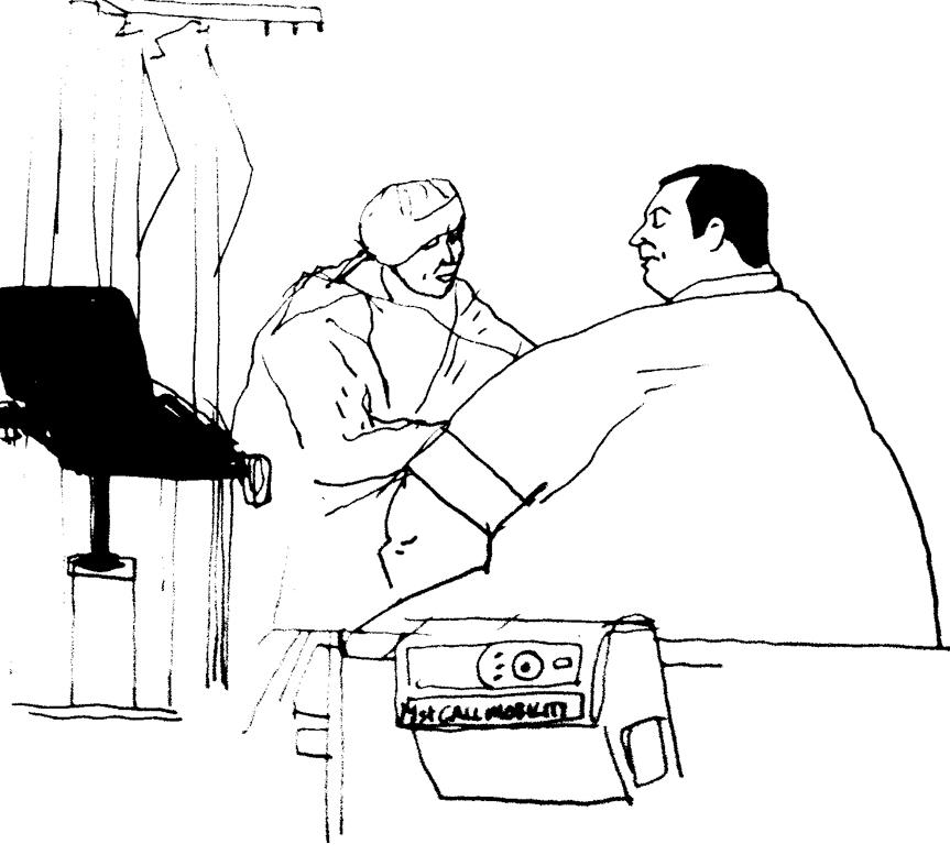 Anaesthetist&patient